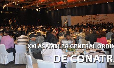 CONATRAM CELEBRA SU XXI ASAMBLEA GENERAL ORDINARIA EN LA CIUDAD DE PUEBLA