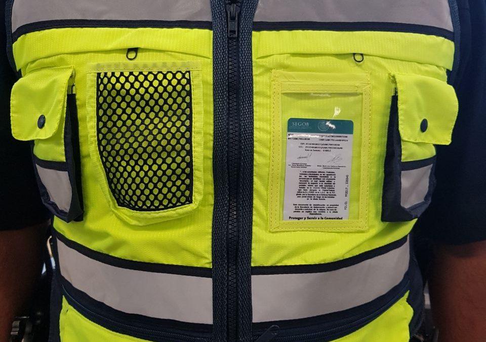 Se informa sobre el uso de chalecos reflejantes de identificación por personal de GAET.