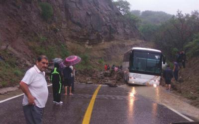 LUEGO DEL SISMO, LOS TRANSPORTISTAS EN OAXACA ENFRENTAN  PÉRDIDAS