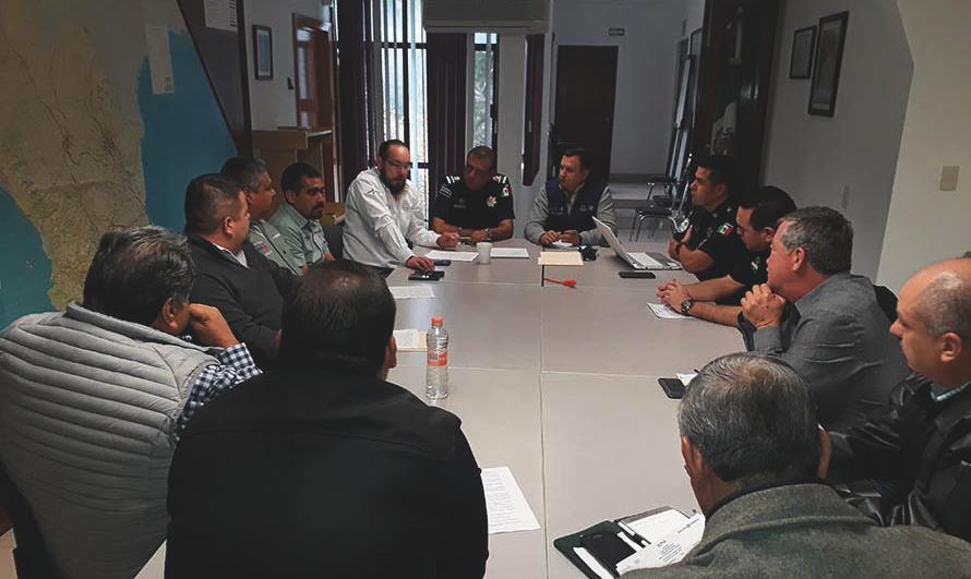 Reunión de trabajo con transportistas Coahuila avanza en materia de autotransporte