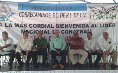 "Toma protesta a la Cooperativa ""Alianza Huasteca: Correcaminos"""