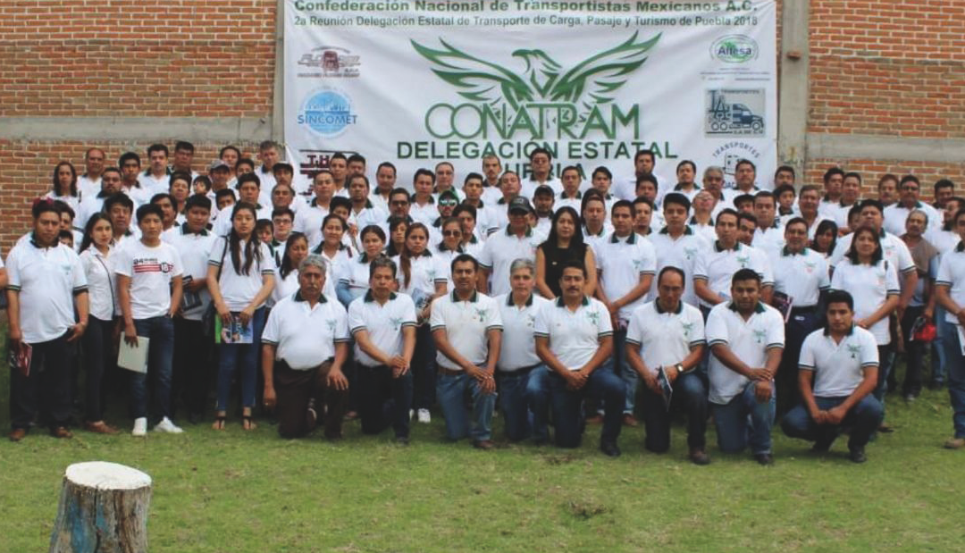 Delegación de CONATRAM Puebla celebra reunión de trabajo.