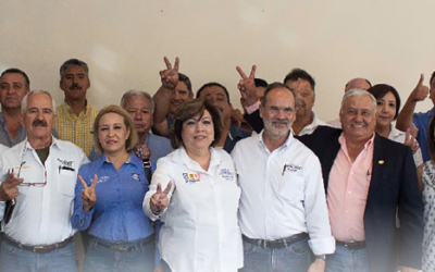 Candidatos visitan la delegación de CONATRAM en Parral, Chihuahua