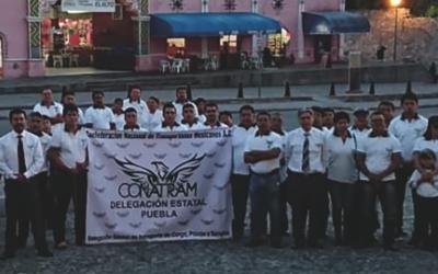 CONATRAM Puebla denuncia robos a vehículos pesados.