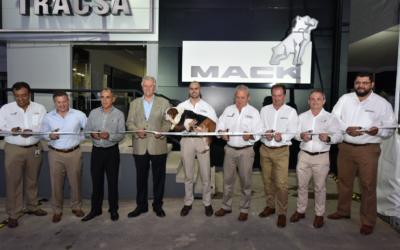 Mack TRACSA inaugura sede en Tlaquepaque, Jalisco.  CONATRAM presente en la inauguración.
