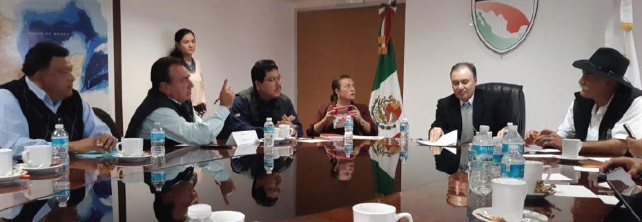 CONATRAM MICHOACÁN  EN REUNIÓN CON EL SECRETARIO DE SEGURIDAD